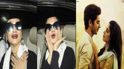 Rekha's reaction after watching Janhvi Kapoor and Ishaan Khatter starrer 'Dhadak' is priceless