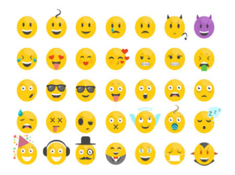 Use a lot of emojis? Here's what it really says about you! - Times of India