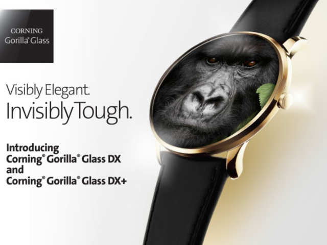 Corning announces protective glass for wearables, Gorilla Glass DX and Gorilla Glass DX+