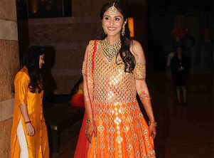 Bollywood celebs spotted at Praful Patel's daughter Poorna's sangeet celebrations