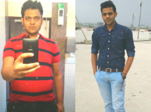 This guy lost 25 kgs in 3 months without gym!