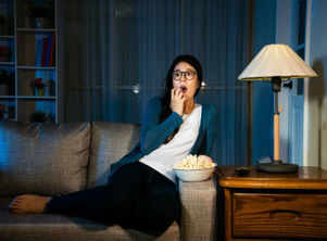 Watching scary movies has health benefits