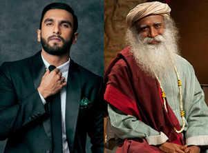 Watch: Ranveer Singh dances away with spiritual guru Sadhguru