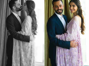 Sonam's romantic picture with hubby Anand