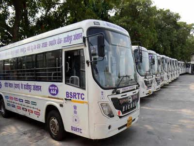 Bihar government rolls out 17 new buses on Hajipur, Maner Sharif