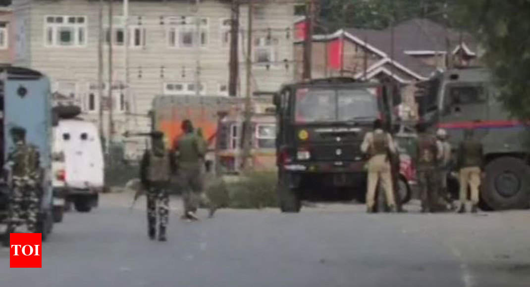 3 terrorists killed in encounter in J&K's Kulgam district - Times of India