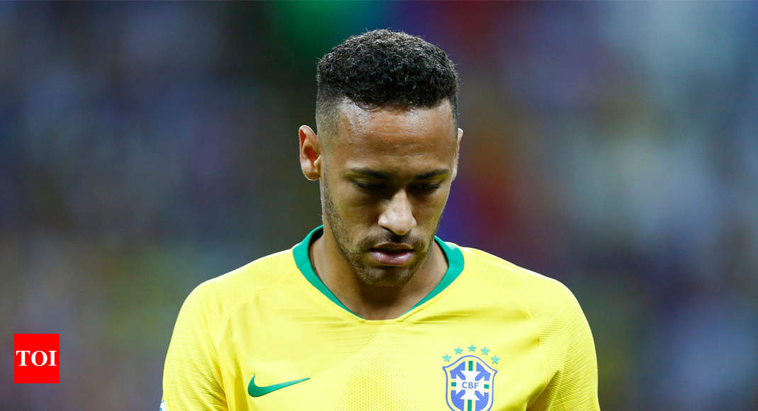 """Neymar: """"I couldn't look at a football"""" after the World Cup - Times of India"""