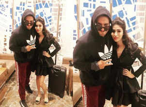 Pic: Mouni Roy's favoured moment with Ranveer