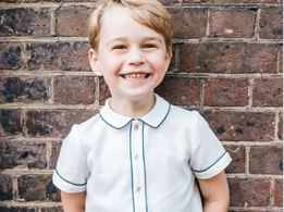 Prince George looks adorable in 5th birthday portrait