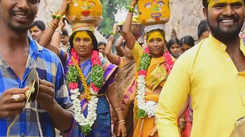 Snapshots of Bonalu in Golconda