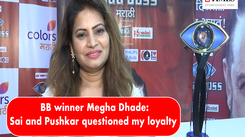 Bigg Boss Marathi winner Megha Dhade: Sai and Pushkar tarnished my image