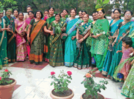 Ladies gather to discuss about medicinal plants