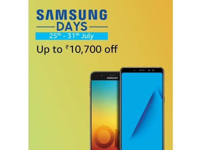Amazon Samsung Days: Smartphones, watches and accessories available with upto Rs 10,700 discount