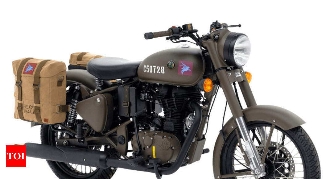 0cefdf67 Royal Enfield: 250 Royal Enfield Classic 500 Pegasus sold in 178 seconds -  Times of India