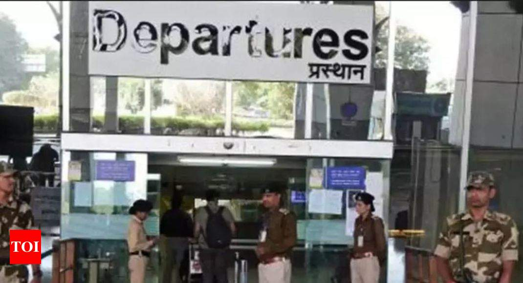 Boarding Pass Stamping May Soon Be Passe India News Times Of India