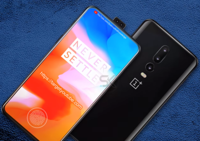 OnePlus 6T concept renders reveal pop-up camera like Vivo ...