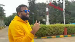 Kannada rapper All.OK speaking about how the Jawaharlal Nehru Planetarium inspired him to become a star