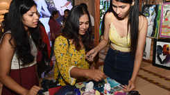 Delhi residents got artsy at this session conducted by DU students