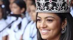 Miss India 2018 2nd runner up Shreya Rao Kamavarapu's Homecoming