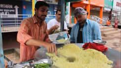 Relish sumptuous Poha at Jaistambh Chowk