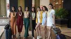Miss Diva 2018 finalists receive a warm welcome at Renaissance Mumbai