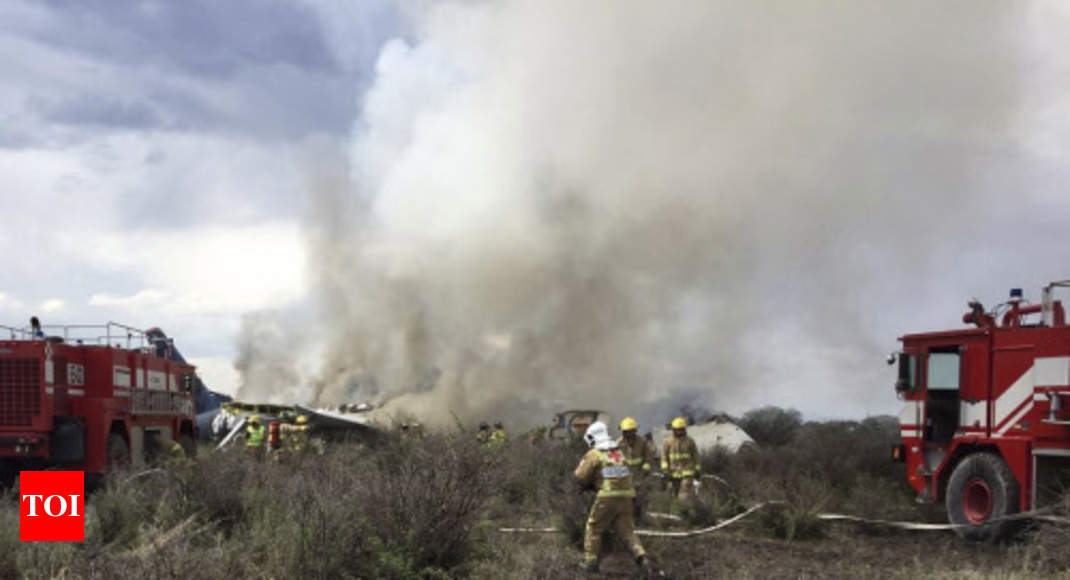 photo - Over 100 continue to exist Mexico airplane demolish - Occasions of India