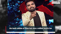 Dhee 10 Finale: Raju declared as the winner of the show?