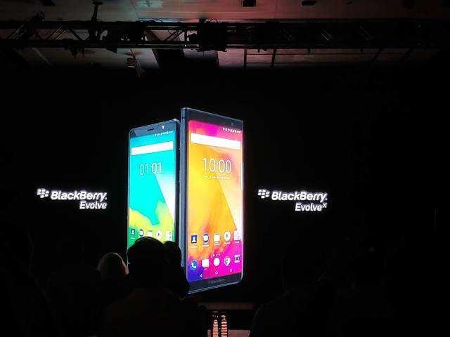 BlackBerry Evolve Launch Price: BlackBerry Evolve, Evolve X