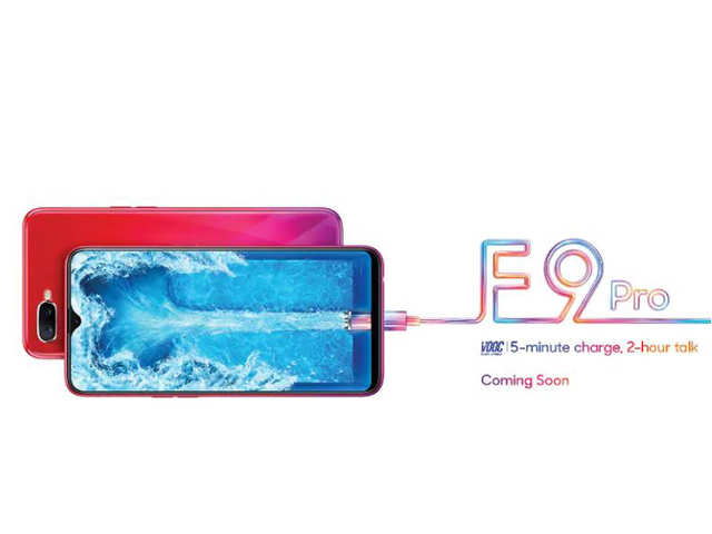 Oppo F9 Pro's latest teaser reveals fast charging support