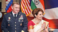Celebrating #USIndiaDosti at the Fourth of July celebrations in Delhi