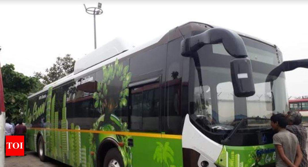 Electric Powered Ac Bus Services Soon To Start From Agra