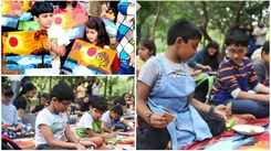 Art and book treat for kids at Cubbon Park