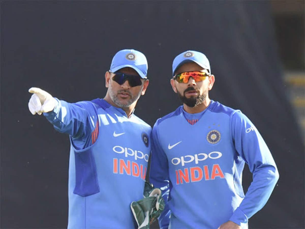 MS Dhoni: Virat Kohli has almost attained legendary status   Cricket News - Times of India