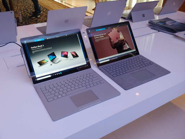 Microsoft Surface Laptop and Surface Book 2: First impressions