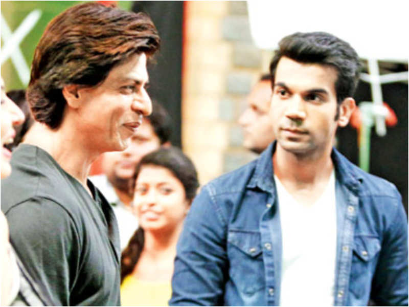 Rajkummar Rao recalls his fanboy moment with Shah Rukh Khan ...