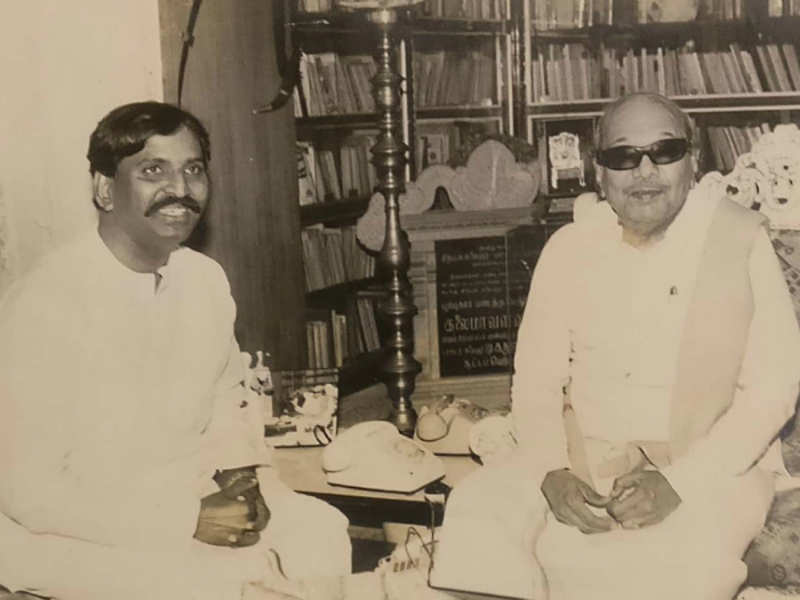 Vairamuthu writes about his long association with Kalaignar