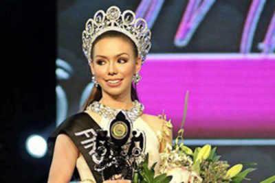 Beauty queen scores 91.55% in her medical exam