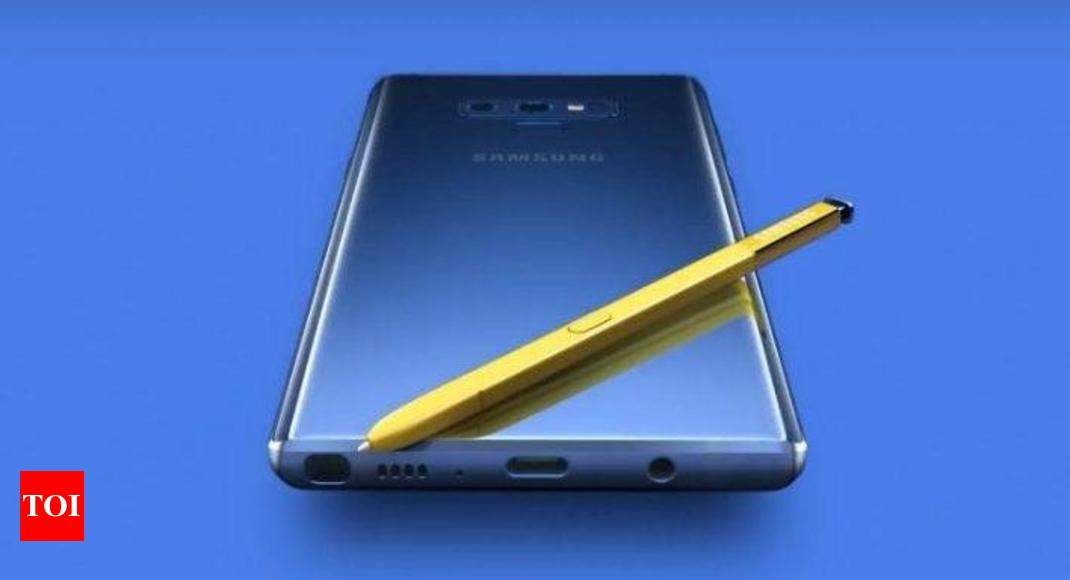 Samsung Galaxy Note 9 Launched With 512 Gb 8gb Ram And Price Around