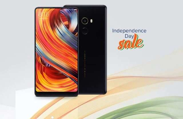 Xiaomi Independence Day Sale 2018: Get discounts up to Rs 5,000 on Mi Mix 2, Mi Max 2, Mi Band 2