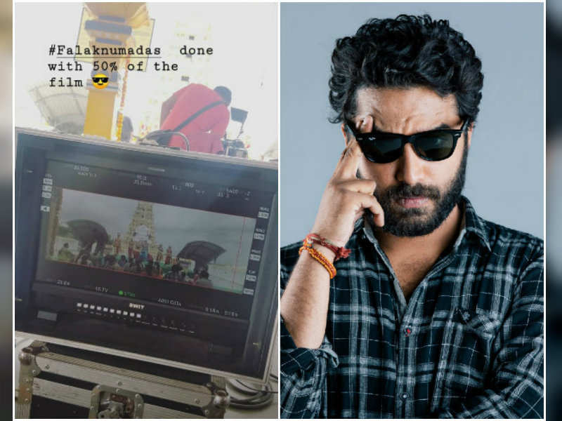 Vishwak Sen says half of the shoot is completed for his upcoming directorial Falaknuma Das