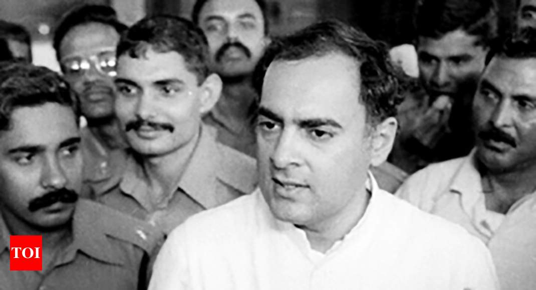 photo - Rajiv Gandhi's killers can no longer be plan free, Centre tells Supreme Court docket - Times of India
