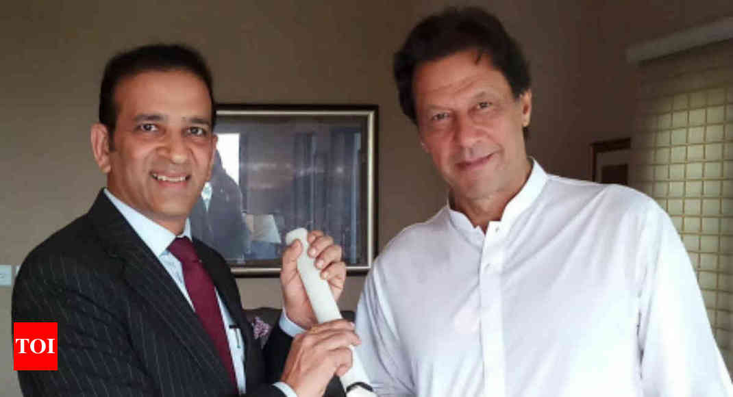 Indian envoy & Imran Khan discuss terror, Kashmir - Times of India