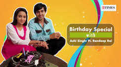 Ye Un Dinon Ki Baat Hai's Ashi Singh celebrates birthday with Randeep Rai