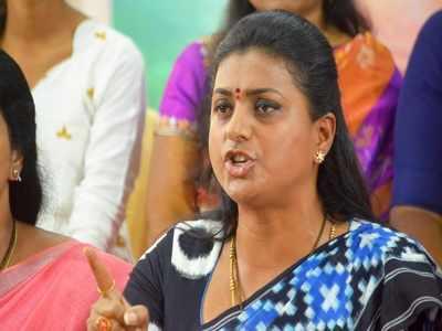 telugu actor roja: Telugu actor Roja knocks HC door, seeks