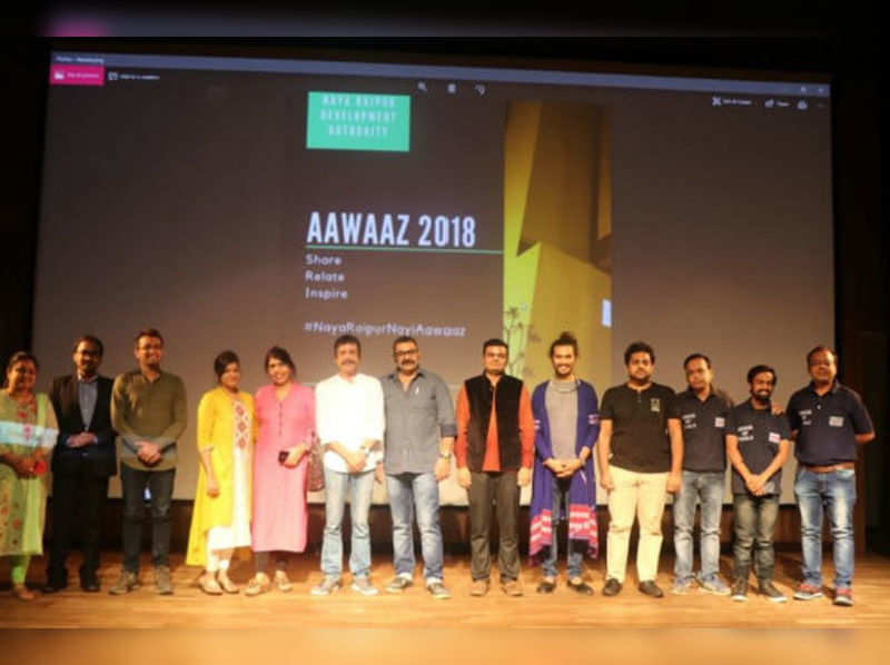 #NayaRaipurNayiAawaaz organised at Samvad Auditorium