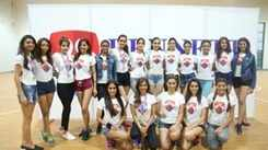 Miss Diva 2018 finalists participate in Sports Day Challenge at Bennett University