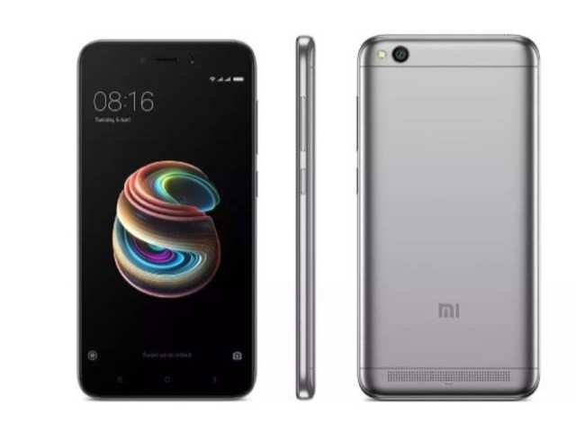 new arrival 47313 1cf0c Redmi 5A with 2/3GB RAM to go on sale on Flipkart at 12PM: Price ...