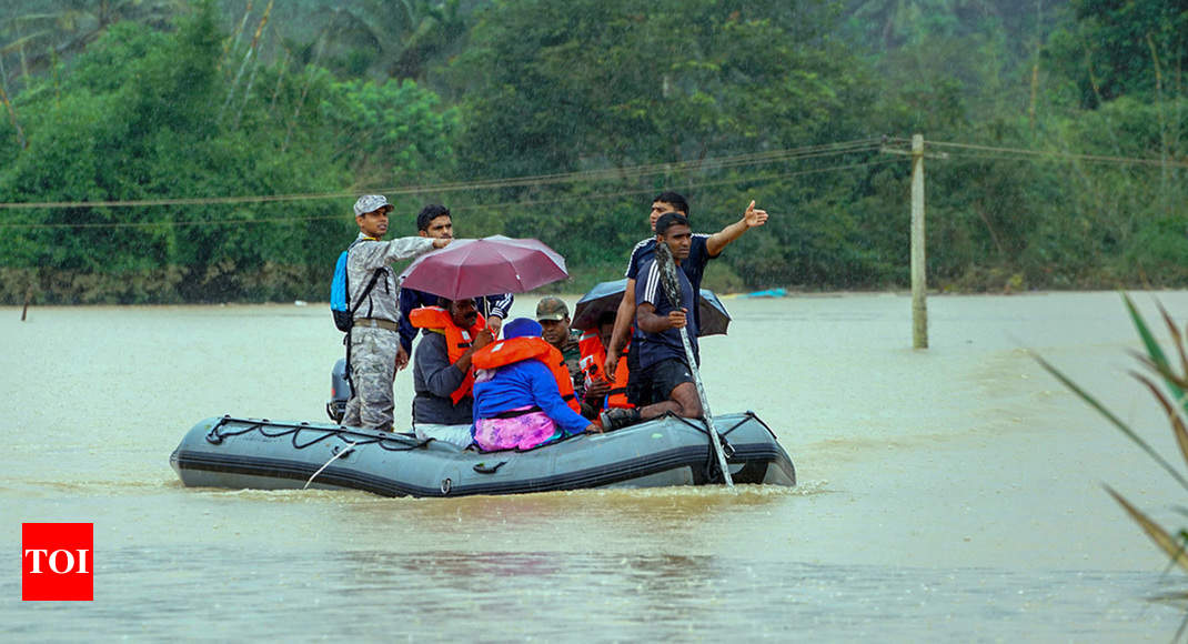 Floods in India: 774 dead in monsoon rains, floods in 7 states | India News  - Times of India