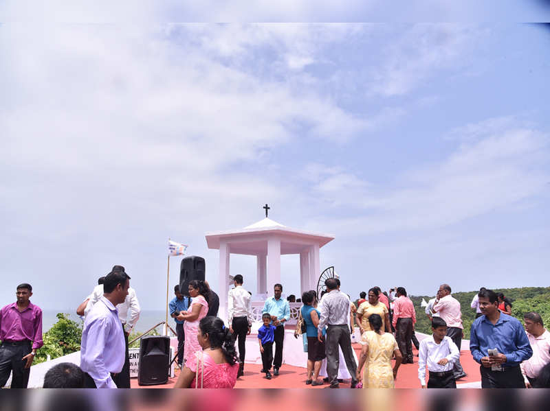 Blessing of the sea at this feast in Sinquerim