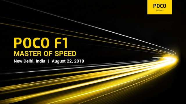 Xiaomi's Poco F1 smartphone with Snapdragon 845 to launch in India on August 22